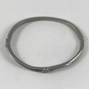 Vintage Silver and Diamond Bracelet